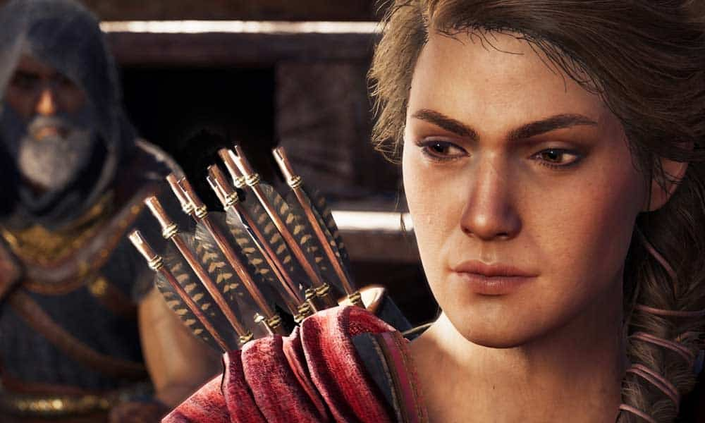 Kassandra was planned as the main character in Assassin's Creed Odyssey.  Alexios was not planned!