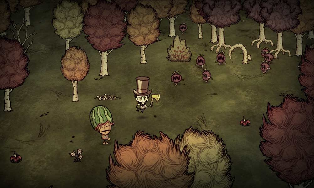 Dont' Starve - (C) Klei Entertainment