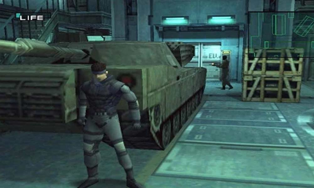 Metal Gear Solid - (C) Konami