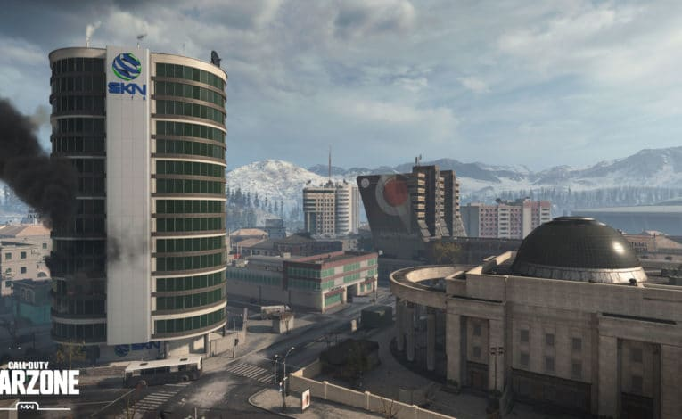 Verdansk: Die große Battle Royale-Map in Call of Duty: Warzone - (C) Activision