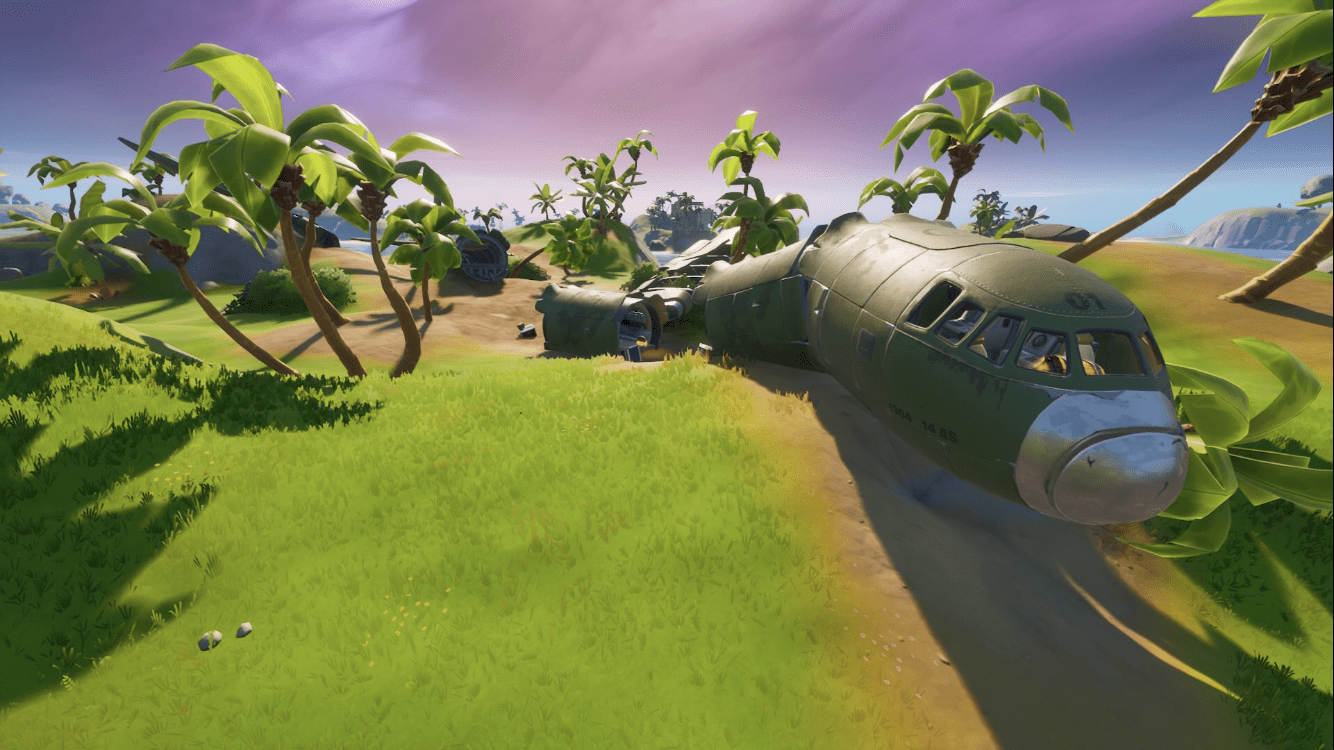 Crash Site in Fortnite