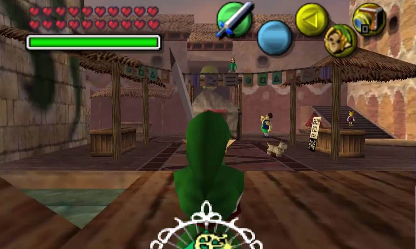 The Legend of Zelda: Majora's Mask - Screenshot der N64-Version