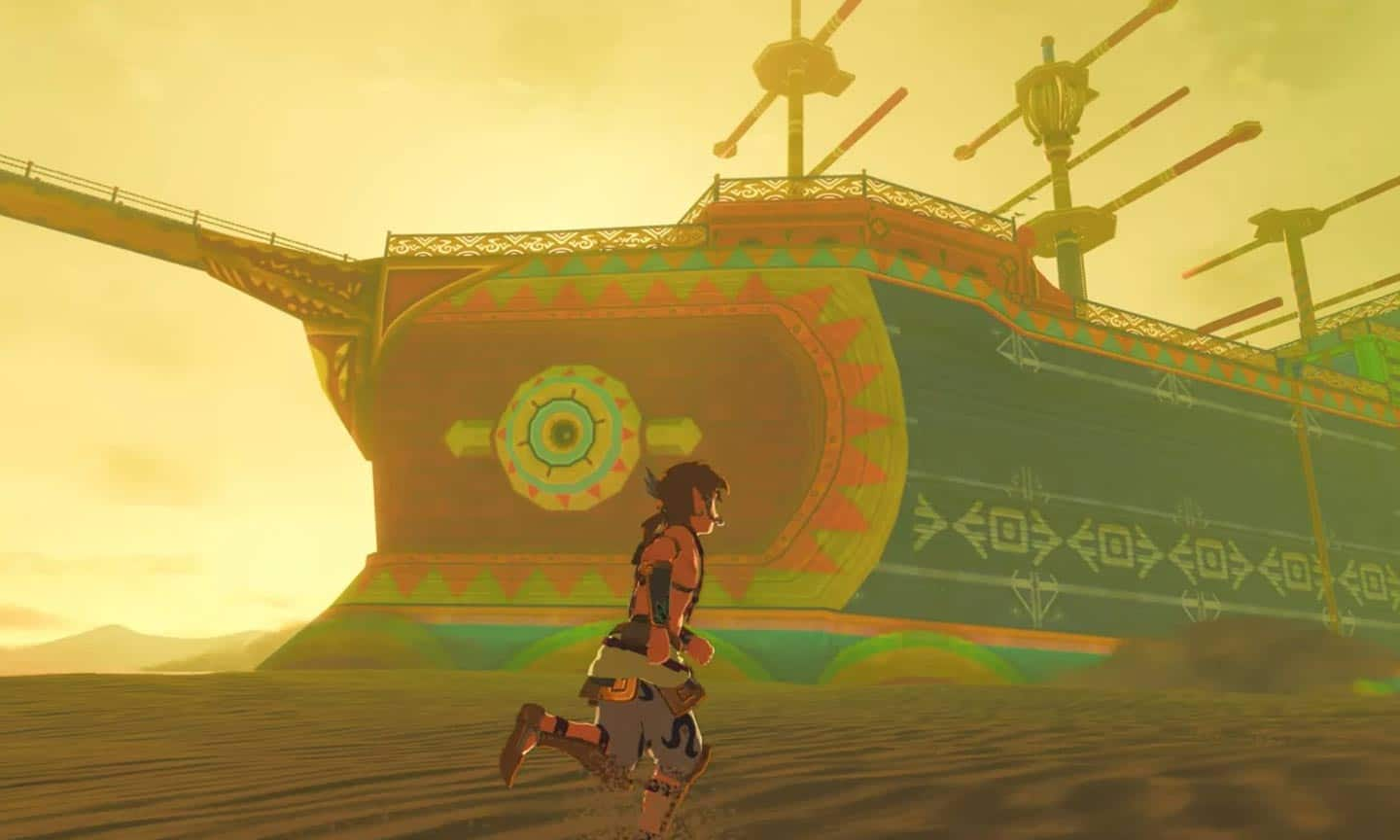 "Der ""Sandship-Mod"" für Breath of the Wild"