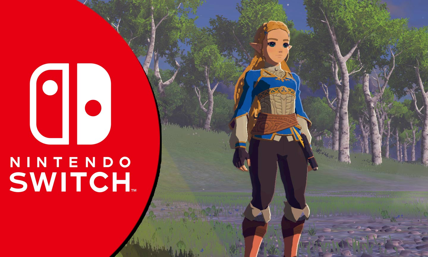 Eine spielbare Zelda in Breath of the Wild (Mod)