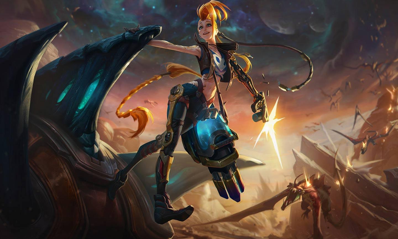 Jinx aus League of Legends (C) Riot Games
