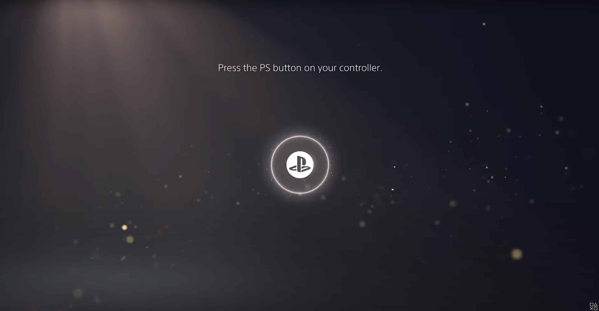 Das Interface der Sony PlayStation 5