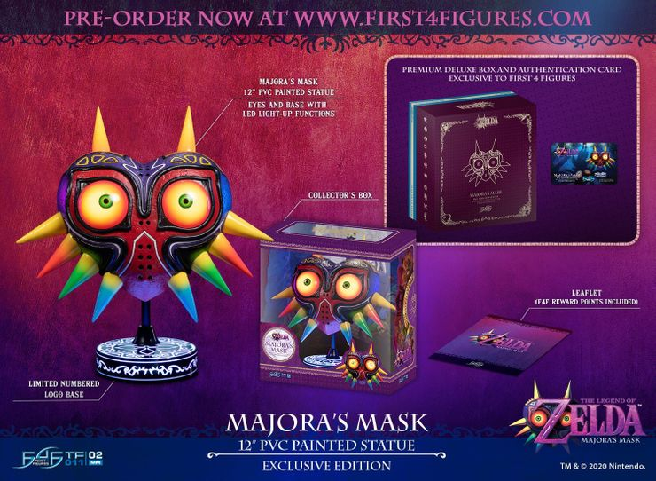 The Legend of Zelda: Majora's Mask - Maskenreplik erscheint 2020