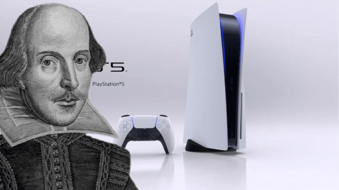 Playstation und William Shakespeare