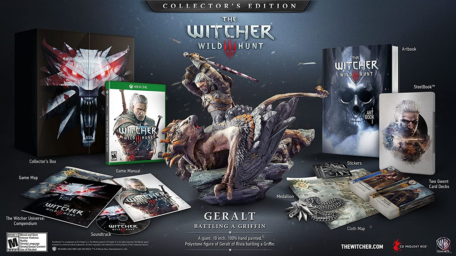 The Witcher limited Edition, Quelle: Amazon