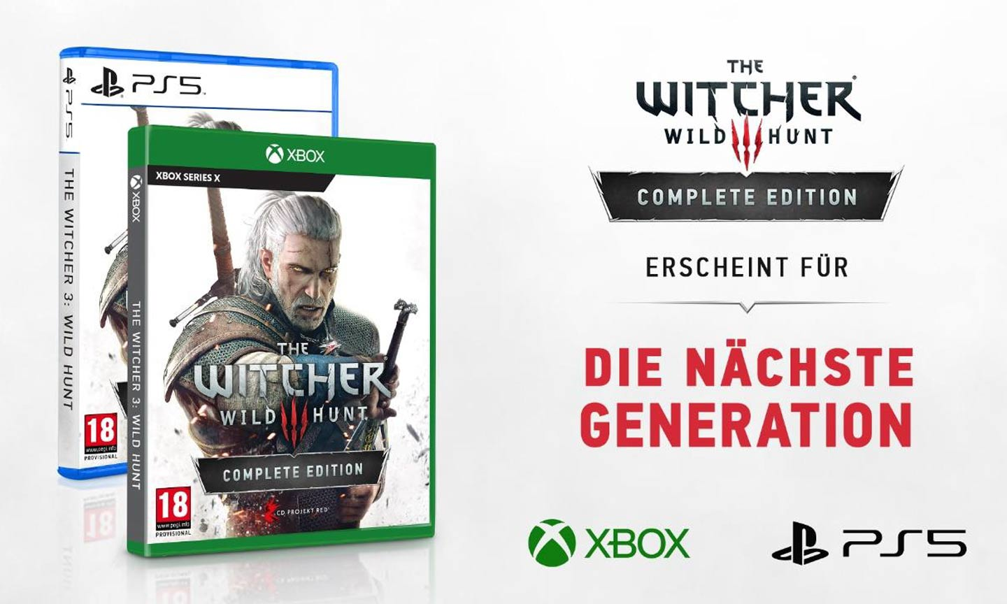 The Witcher 3: Wild Hunt Complete Edition für PS5 und Xbox Series X (C) CD Projekt Red