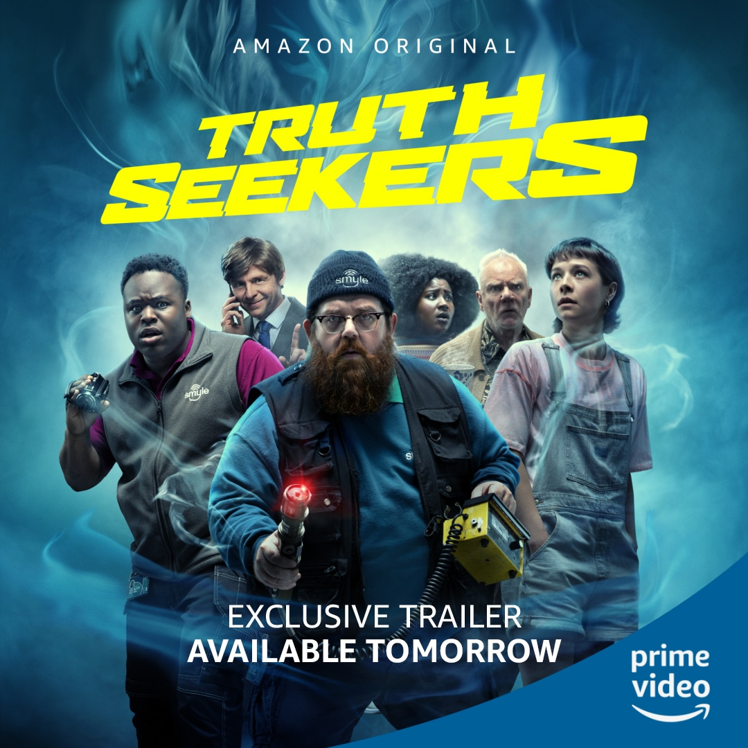 Truth Seekers Title © Amazon Prime Video