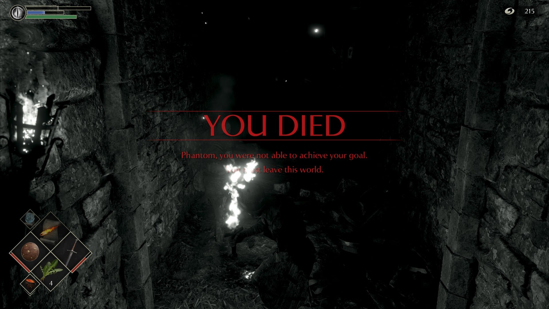 Demons Souls You Died © Sony, Screenshot: Dailygame