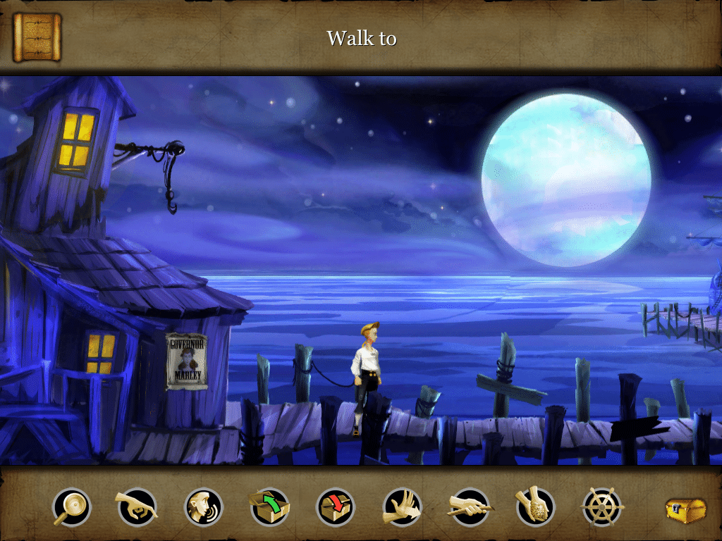 Monkey Island Point and Click © Lucasarts / Quelle: mobygames.com screenshot by Unicorn Lynx
