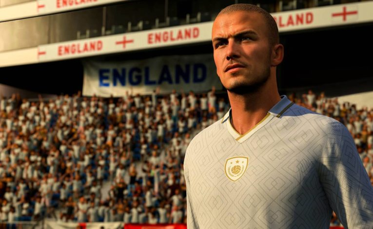 David Beckham in FIFA 21 - (C) EA Sports