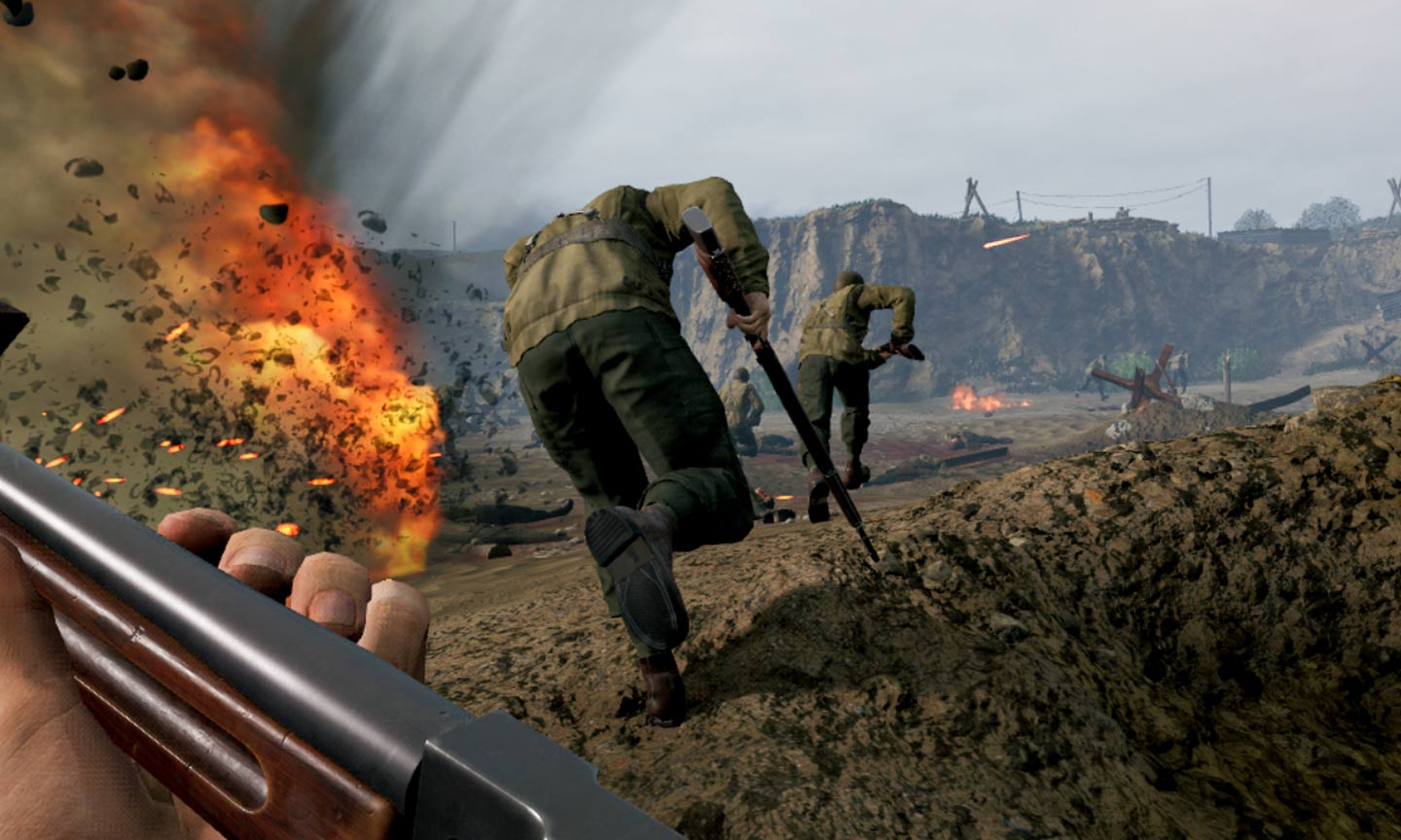Medal of Honor: Above and Beyond - (C) Respawn Entertainment