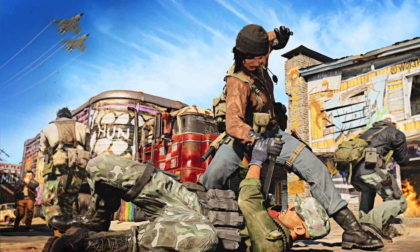 Call of Duty: Black Ops Cold War - Nuketown- (C) Activision