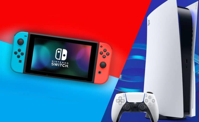 Nintendo Switch und Sony PlayStation 5 (PS5) - (C) Sony, Nintendo