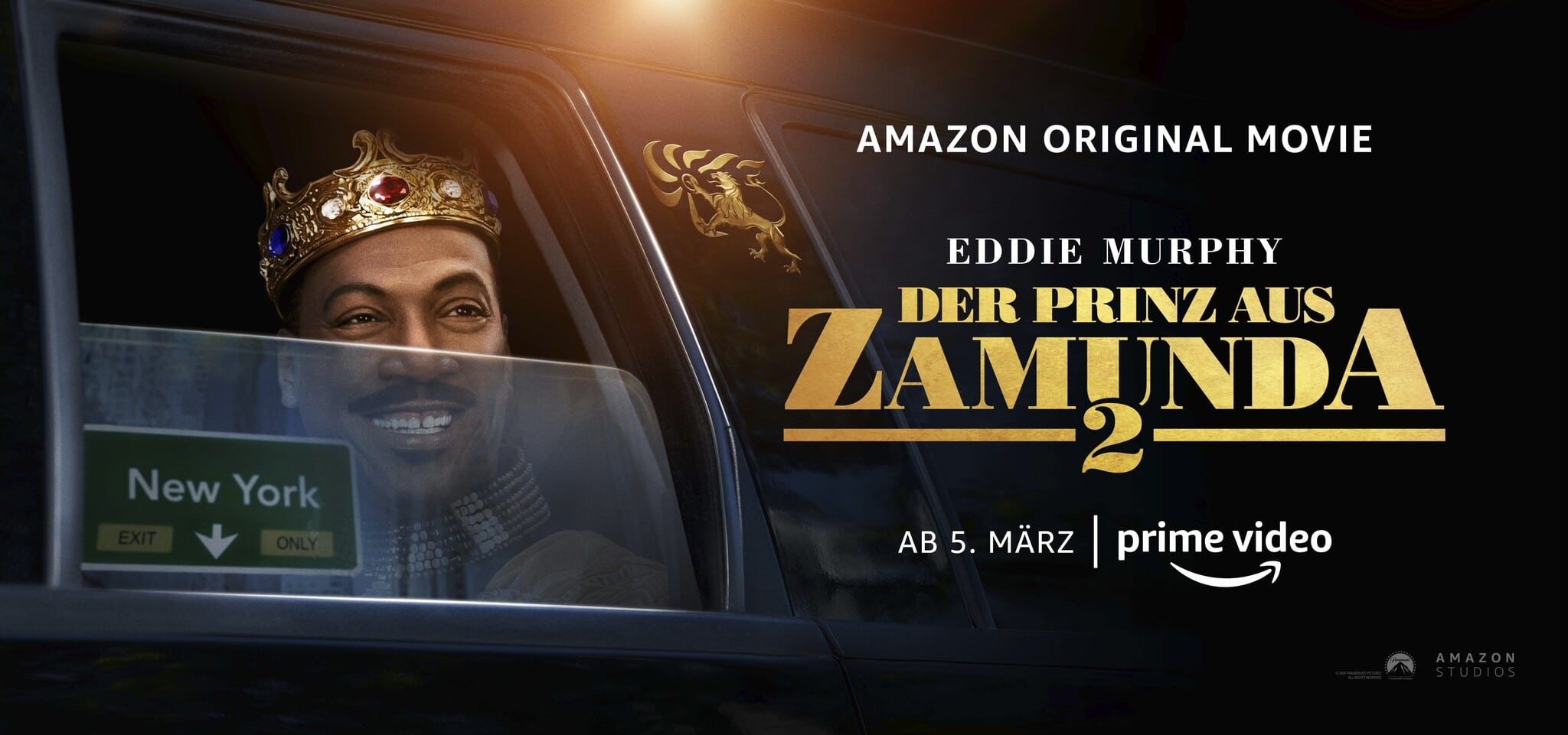 Prinz aus Zamunda 2 Banner © Amazon Prime Video