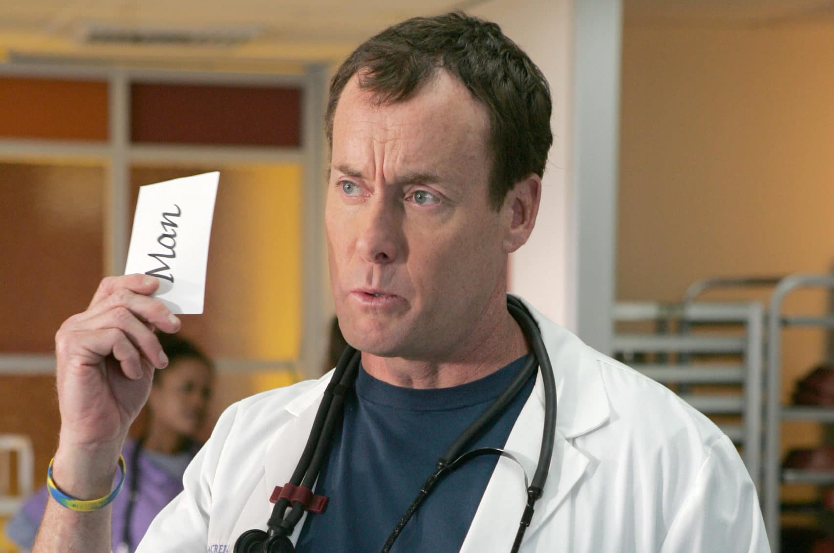 Scrubs: Dr Cox Pictured: John C. McGinley Photo: Justin Lubin ©Touchstone Television. All Rights Reserved.