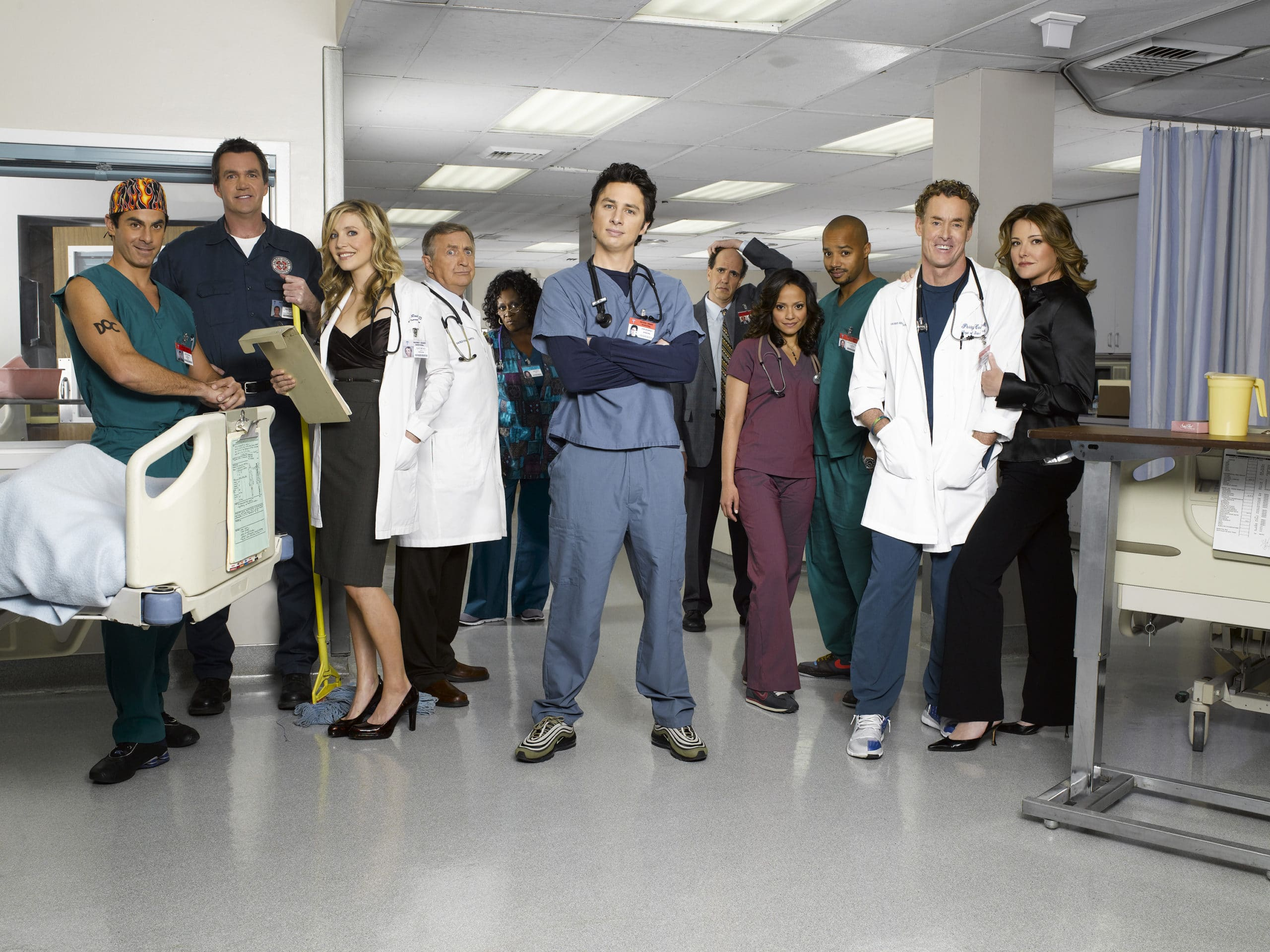 Scrubs Cast ©Touchstone Television. All Rights Reserved