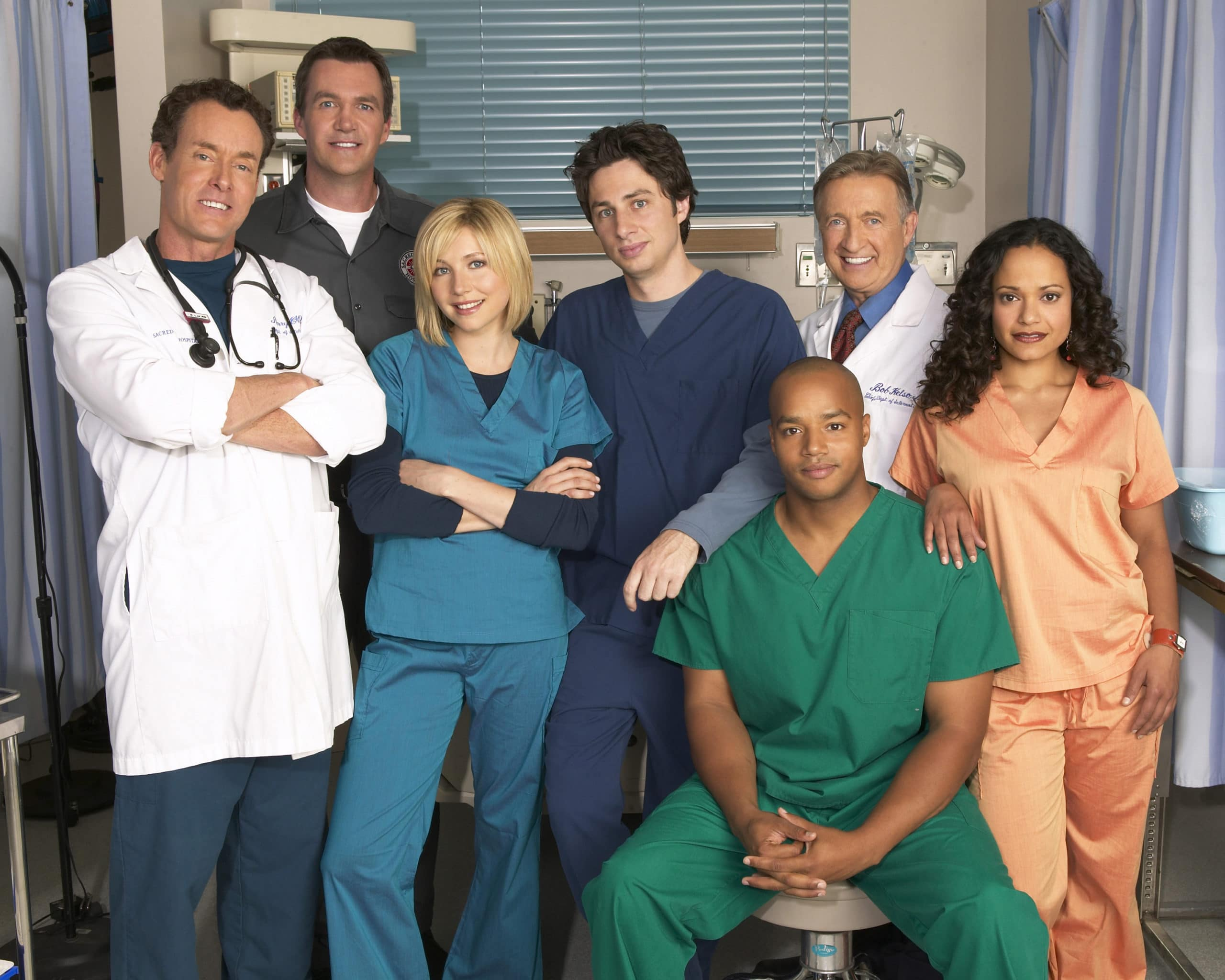 Scrubs die 5. Staffel ©Touchstone Television. All Rights Reserved