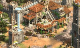 Sizilianer-Gebäude in Age of Empires 2: Definitive Edition - Lords of the West. - (C) Microsoft