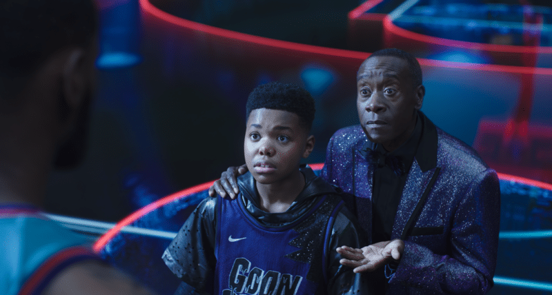 Space Jam 2 Don Cheadle © 2021 Warner Bros. Entertainment Inc. All Rights Reserved.