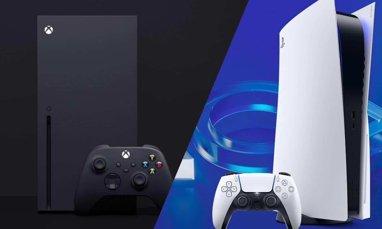 Xbox Series X und PS5 sind zwei gefragte Produkte, die aufgrund der fehlenden Computer-Chips kaum verfügbar sind. - (C) Microsoft, Sony; Bildmontage: DailyGame
