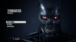 Title Screen Terminator Resistance © Reef Entertainment - Screenshot DailyGame