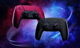 PS5 präsentiert zwei neue DualSense-Controller in Midnight Black und Cosmic Red. - (C) Sony Interactive Entertainment