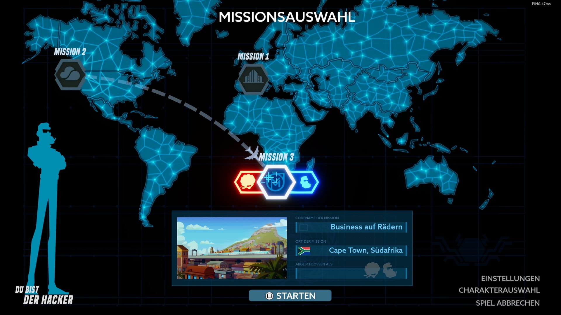 Operation Tango Missionsauswahl © Clever Plays, Screenshot: DailyGame
