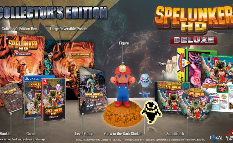 Spelunker HD Deluxe Collectors Edition (C)ININ Games und Tozai Games