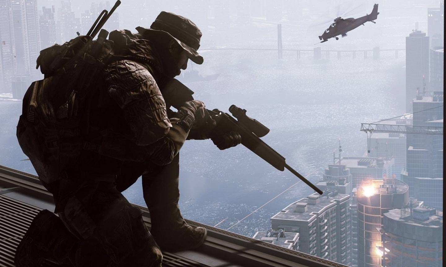 Apparently you can change your weapon however you want in Battlefield 2042.  - (C) DICE / EA