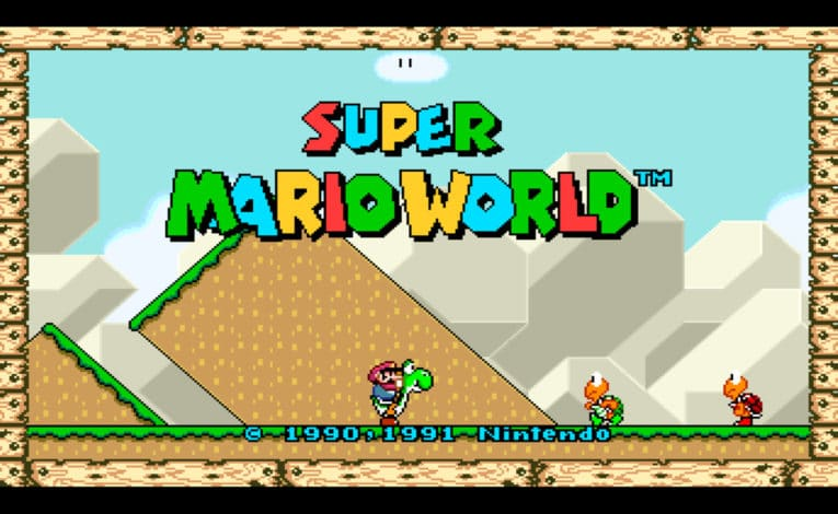 Mit dem Widescreen-Hack ist Super Mario World endlich auch auf 16:9-Bildschirmen spielbar. © Nintendo