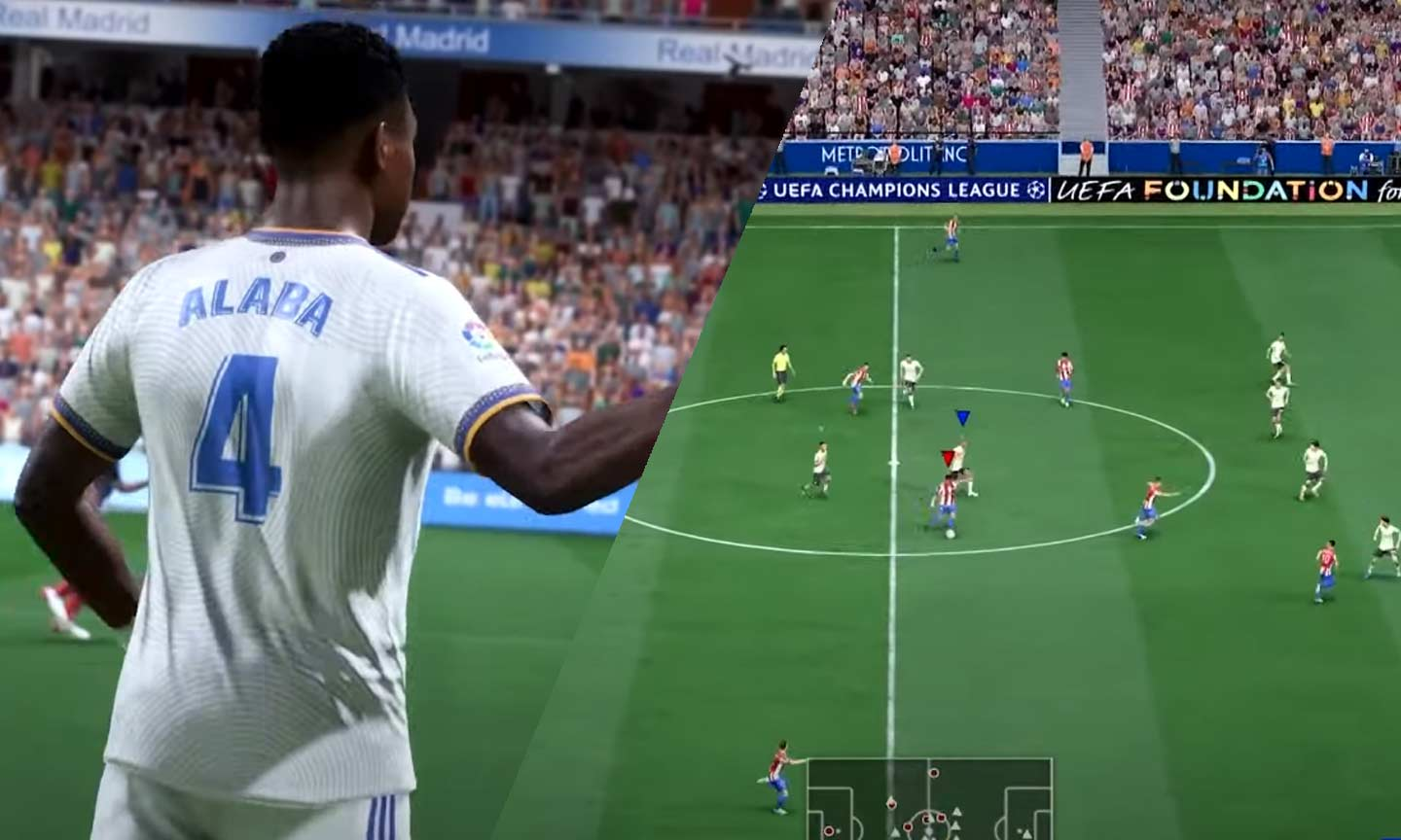 FIFA 22-Gameplay-Trailer zeigt HyperMotion (PS5 / Xbox Sequence X)