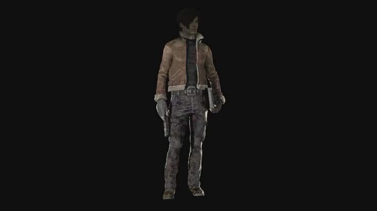 Leon Kennedys Charakter-Modell (C) Capcom und Dead by Daylight
