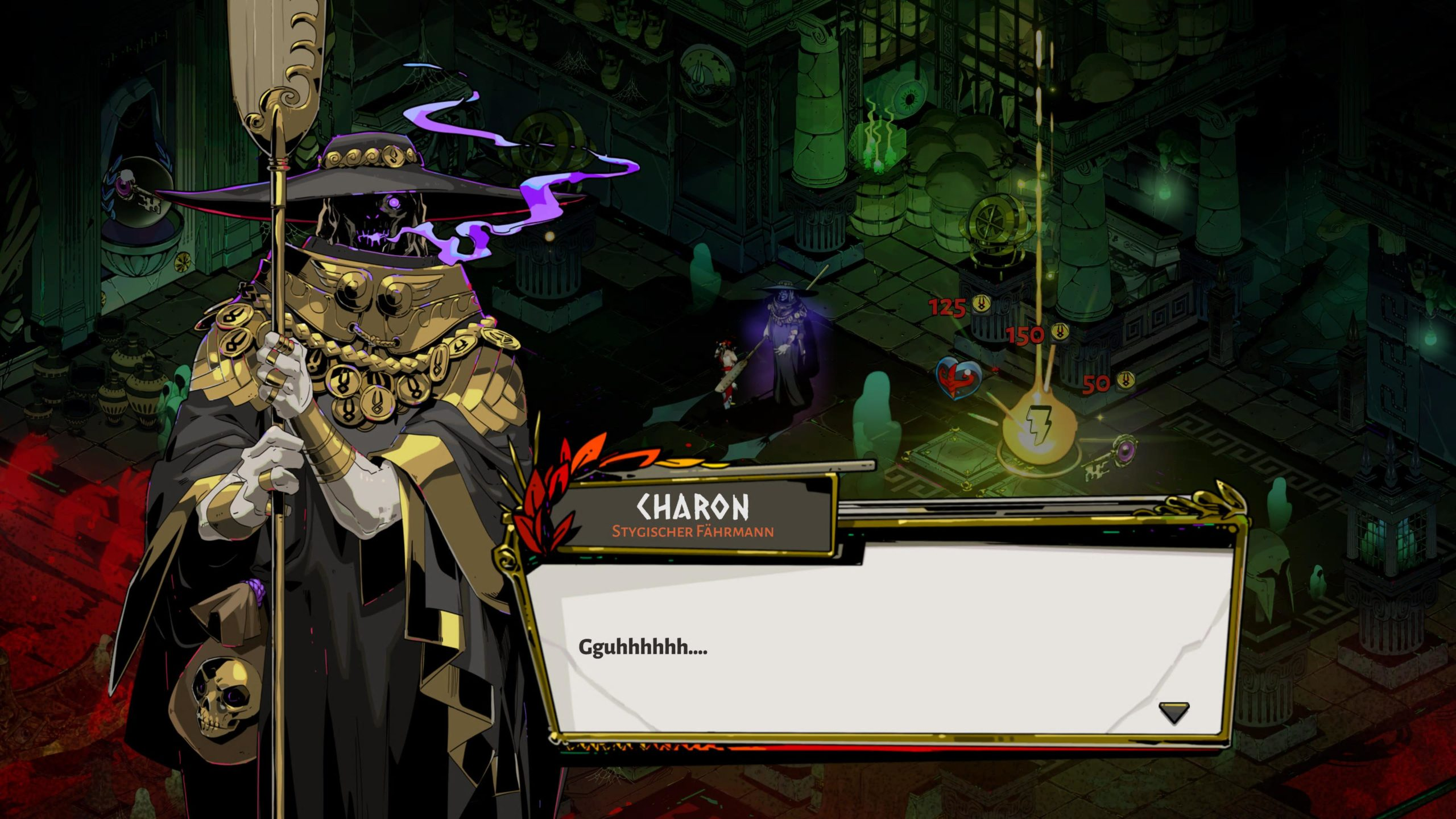 Charon Hades © Supergiant Games